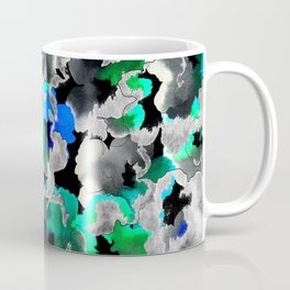 Etched Watercolor Coffee Mug