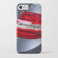 mercedes iPhone & iPod Cases featuring Mercedes-Benz C 180 Coupé Sport by Mauricio Santana
