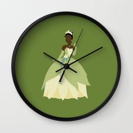 Tiana from Princess and the Frog Wall Clock