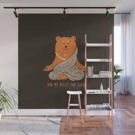 Buddha Bear Wall Mural