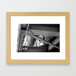 Look Above B&W Framed Art Print