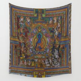 The Medicine Buddha Wall Tapestry