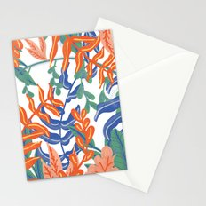 Abstract Tropical Pattern Stationery Cards