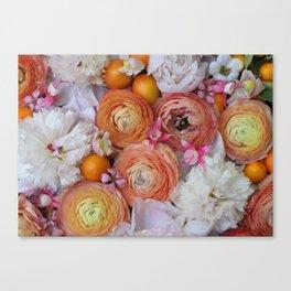 Flower Design 13 Canvas Print