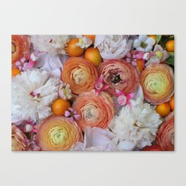 Flower Design 13 Canvas Print