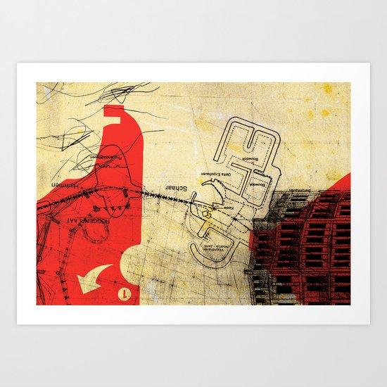 overflow #21 Art Print