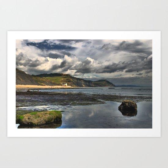 Charmouth  Dorset UK Art Print