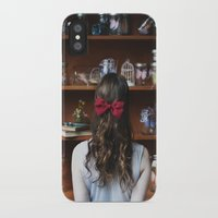 library iPhone & iPod Cases featuring Library by KaleighM
