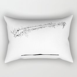 Where are the stagnant waters 4 Rectangular Pillow