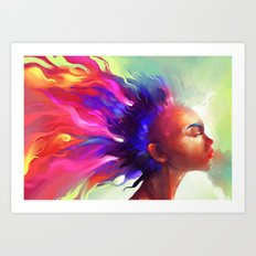 Dragons Breath  Art Print