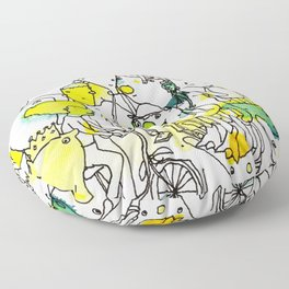 Character Cohesion Floor Pillow