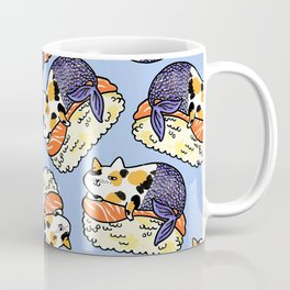 Mer-Kitty Sushi Coffee Mug