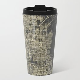 Las Vegas Map #1 Travel Mug