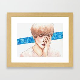 JUNG YONG HWA Framed Art Print