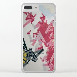 Fiia Demeuuse exploded Clear iPhone Case
