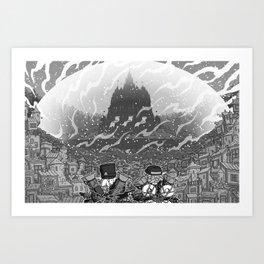 Castle of Lord Raalvos Art Print