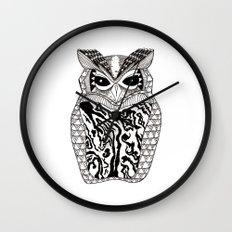 YMMY OWL Wall Clock