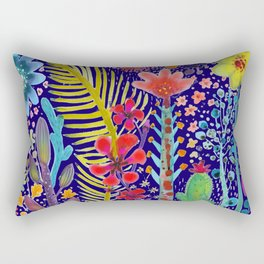 in the migthy jungle Rectangular Pillow