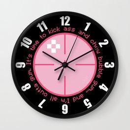 All Outta Gum Wall Clock