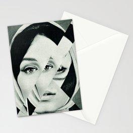 Frau mit Dreieck 1 Stationery Cards