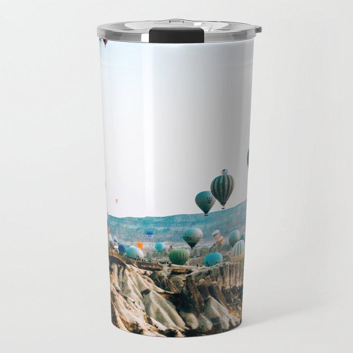 Hot Air Rises | Cappadocia, Turkey Travel Mug