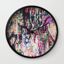Paroxysm Wall Clock