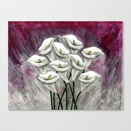 Spring's Lilly Canvas Print