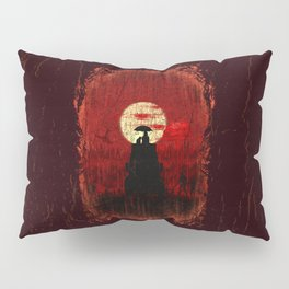 Unbrella, Girl, Cat and Zombies Pillow Sham