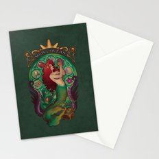 Sous La Mer Stationery Cards