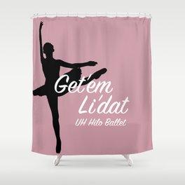 Ballet UHH Shower Curtain