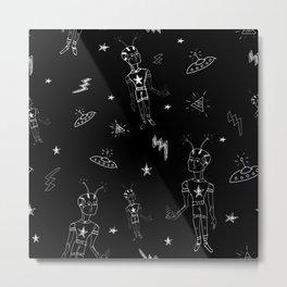 Cosmic boy pattern No 1 Metal Print