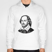 shakespeare Hoodies featuring Shakespeare by OnaVonVerdoux