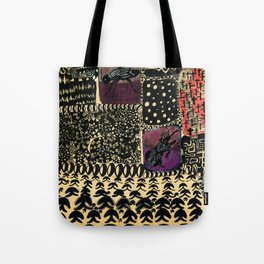 Want to mourn, let be Tote Bag