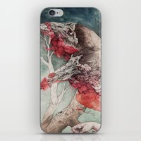 "pen iPhone & iPod Skins featuring ""Insatiable"", as a print by Caitlin Hackett"