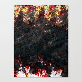 burnt ice Canvas Print