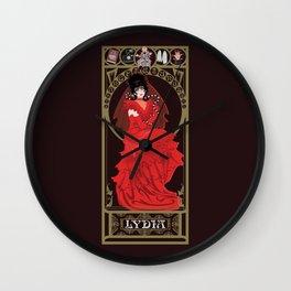 Lydia Nouveau - Beetlejuice Wall Clock
