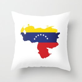 Venezuela - venezuelan heart - flag design Throw Pillow