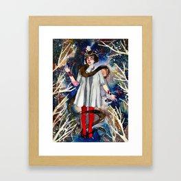 Sleet Framed Art Print