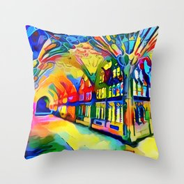 If You See A Fork In The Road, Take It! Throw Pillow