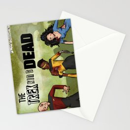 The Trekking Dead Stationery Cards