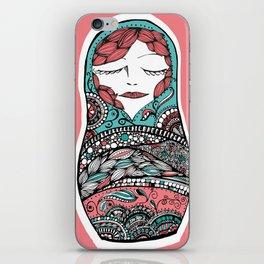 Sleeping Matrioska iPhone Skin