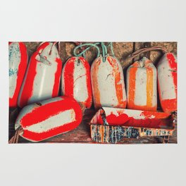 Buoy Painting Workbench Rug