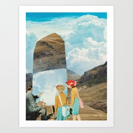 Two Wildly Different Perspectives Art Print