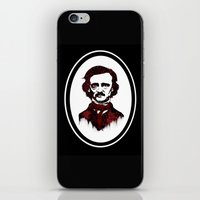 poe iPhone & iPod Skins featuring Poe by Brit Austin Illustration