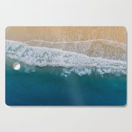 Water on the Beach (Color) Cutting Board