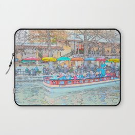 Ride Down The River - San Antonio, Texas Laptop Sleeve
