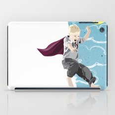 The man who has no imagination has no wings. iPad Case