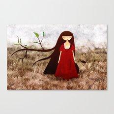 Branch Hair Canvas Print