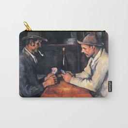 Paul Cézanne - The Card Players Carry-All Pouch