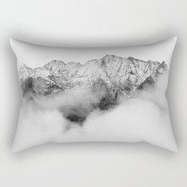 Peaks on the Mist Rectangular Pillow